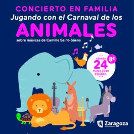 Concierto familiar en Zaragoza