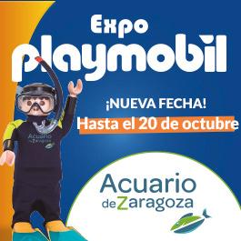 Playmobil en el acuario