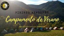 campamento en el pirineo