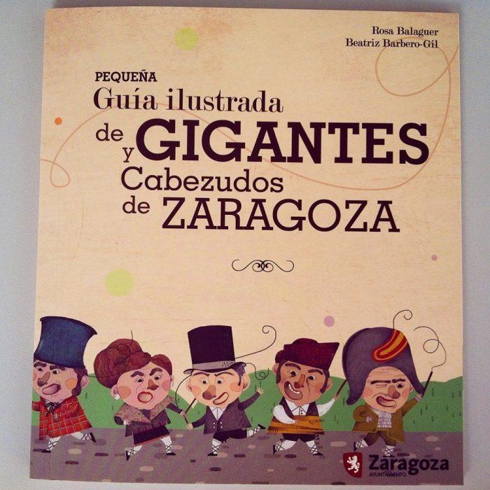 Libro ilustrado de los Cabezudos